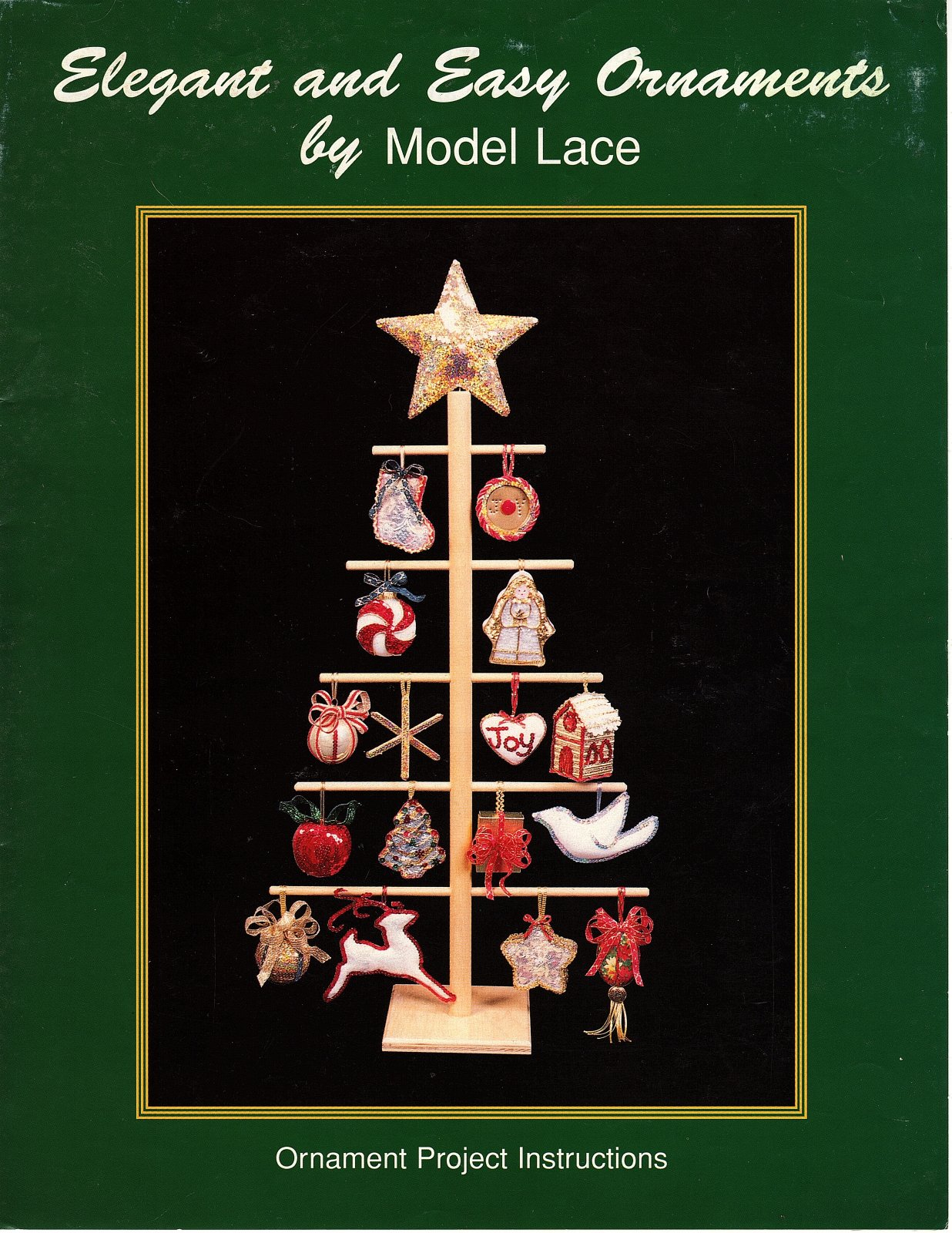 Elegant and Easy Ornaments by Model Lace designed by Kathryn P. Schmitz