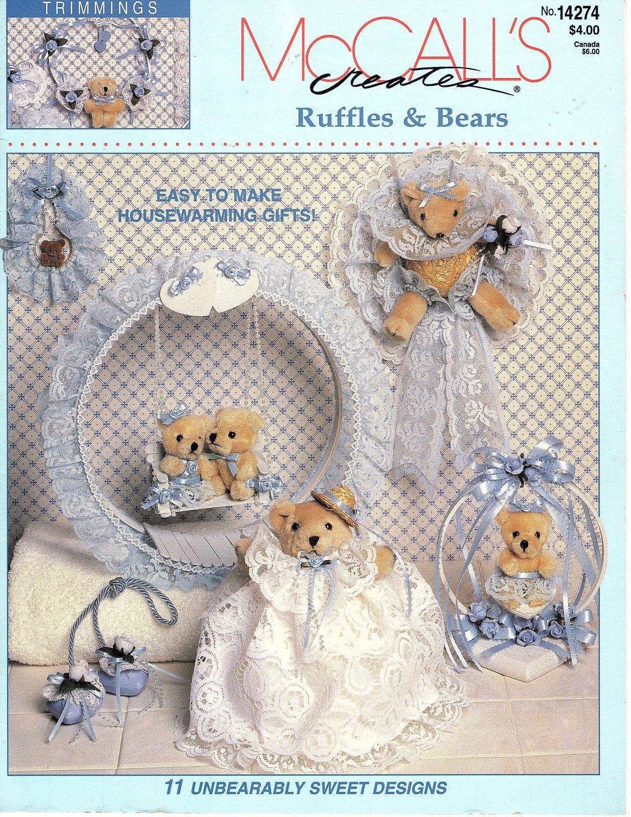 Ruffles & Bears  by McCall's Creates - 11 Unbearably Sweet Designs