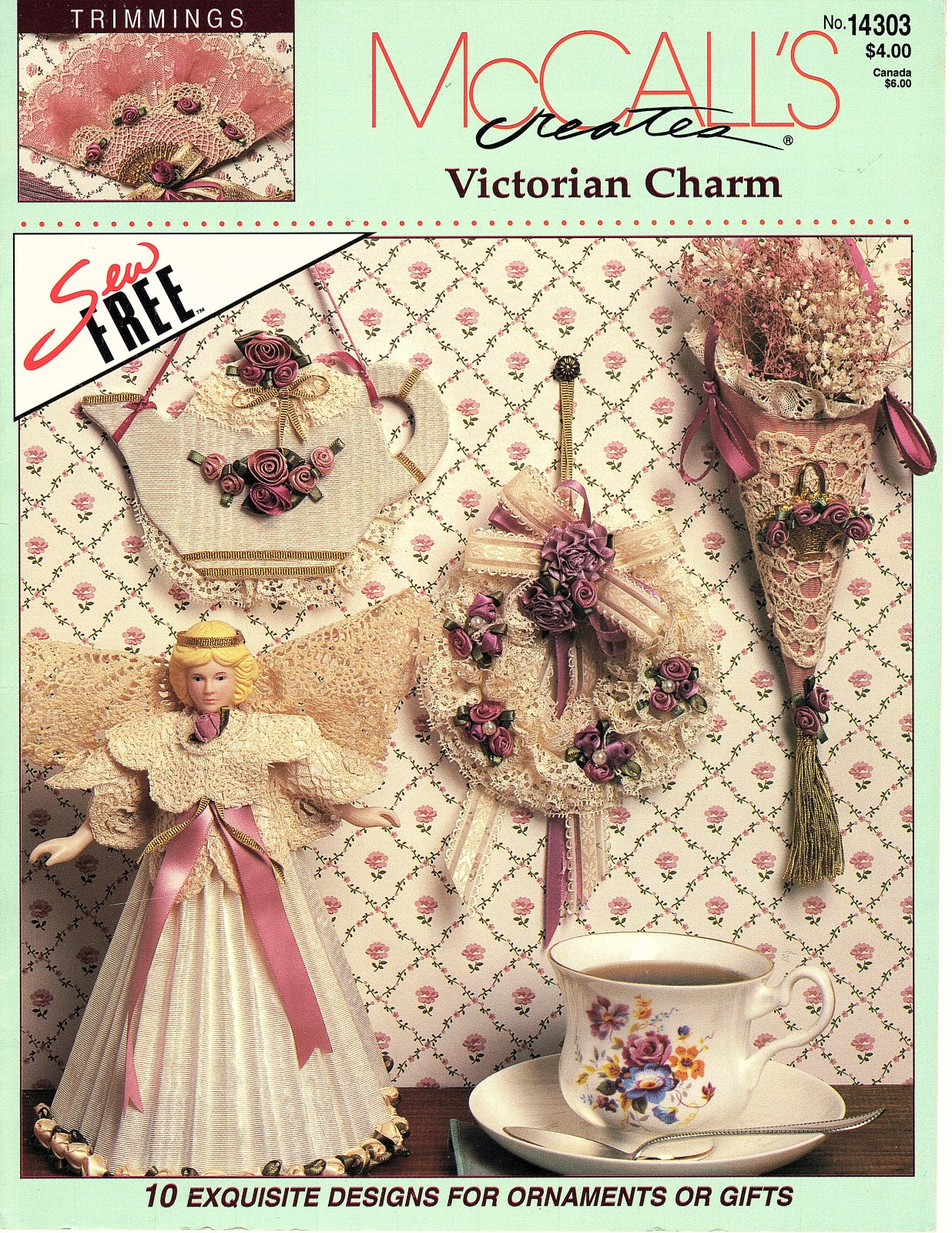 Victorian Charm by McCall's Creates - 10 Designs  Exquisite designs for ornaments or giftss