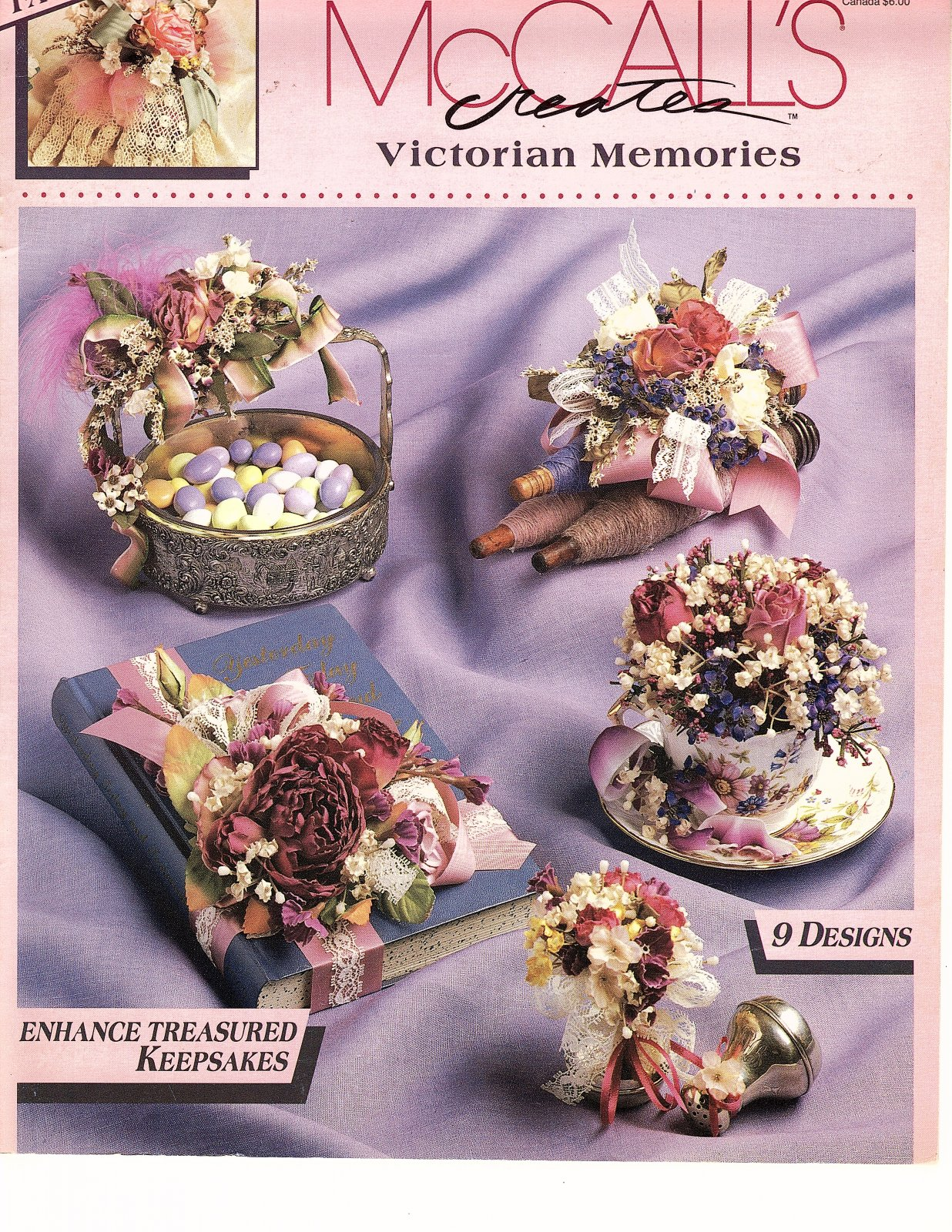 Victorian Memories by McCall's Creates - 9 Designs  Enhance treasured keepsakes