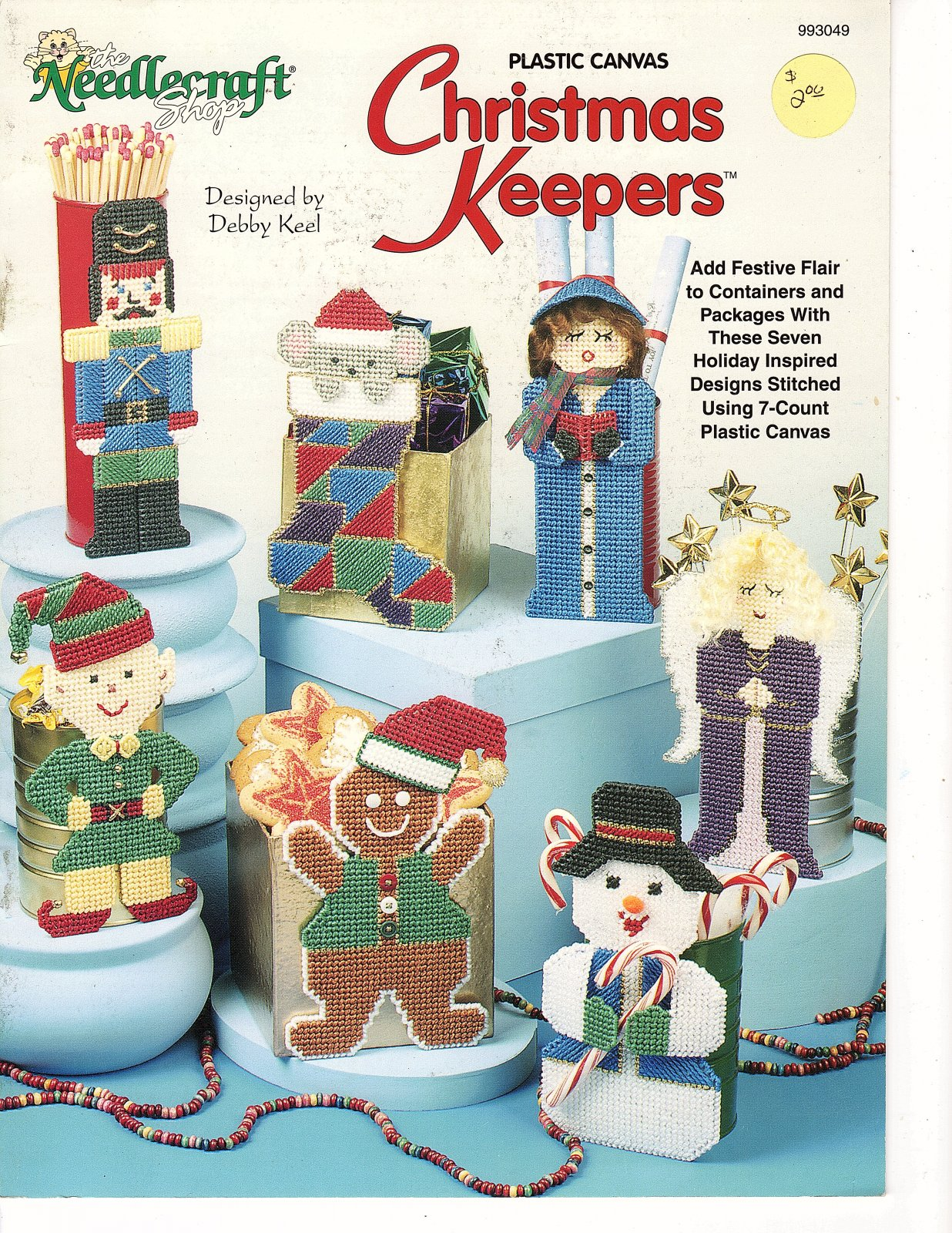 Plastic Canvas Christmas Keepers by The Needlecraft Shop 993049