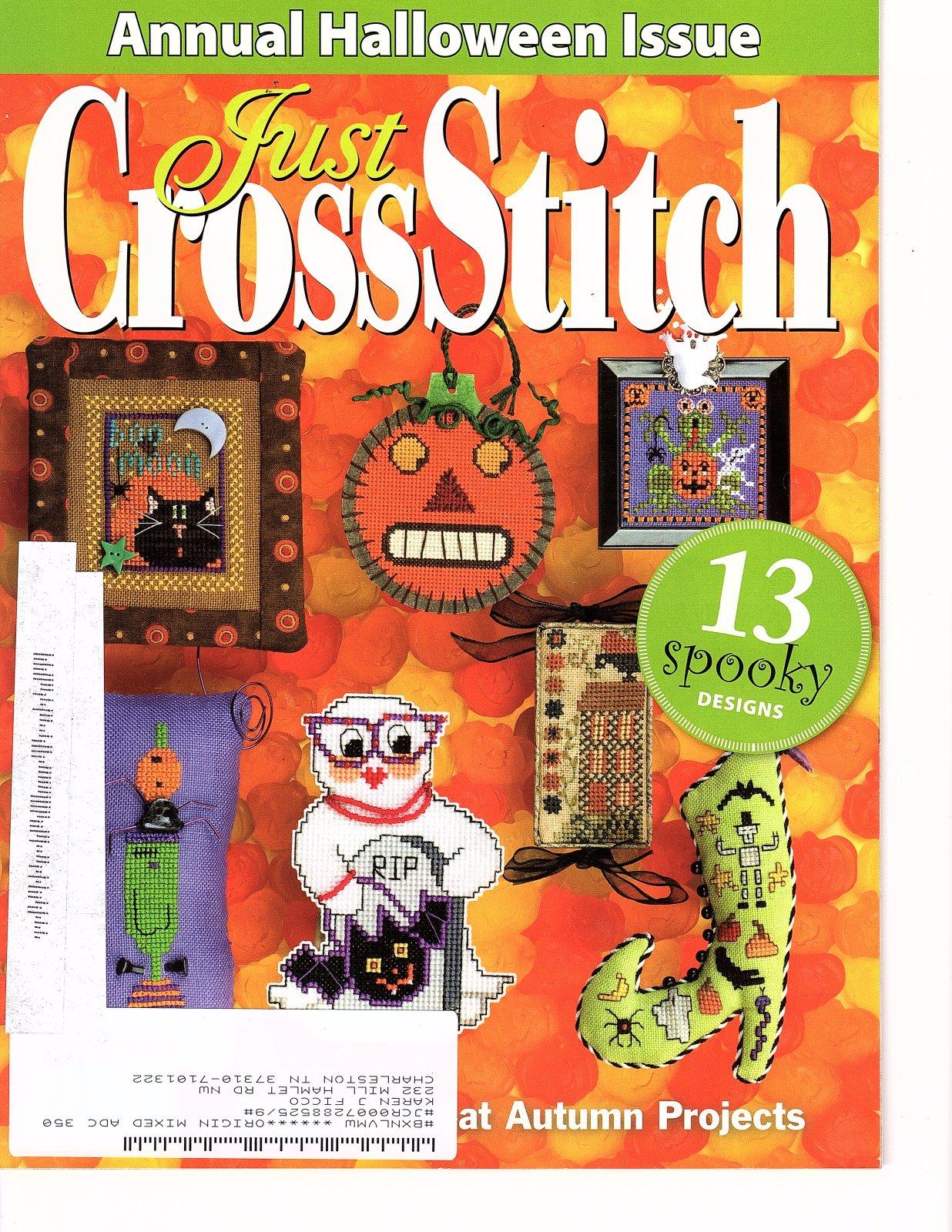Just CrossStitch - America's Premier Cross-Stitch Magazine - Sept/Oct 2009