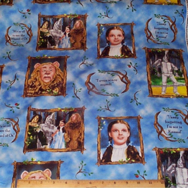 Cranston - Quilting Treasures Licensed Wizard of Oz Characters ...