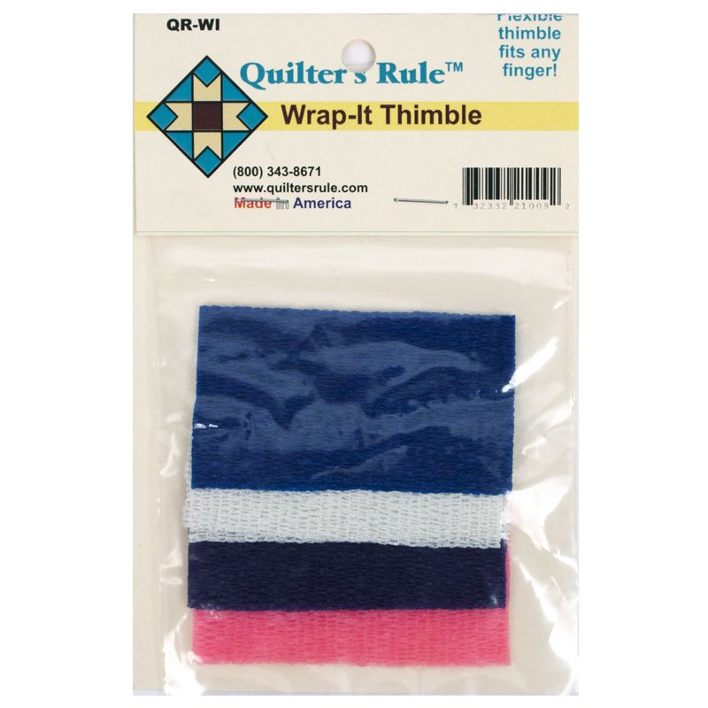 Notions Thimble Quilters Rule Wrap It Thimble