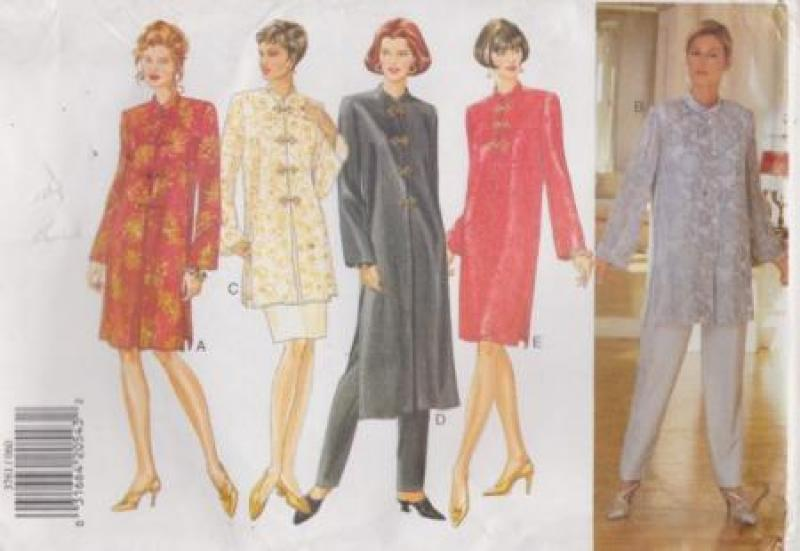 BUTTERICK 3761 FAST & EASY CLASSICS COLLECTION PATTERN  SIZES  6-8-10