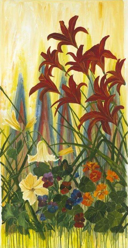 The Edible Garden by Frond Design Studio- Spring Salad #102-01