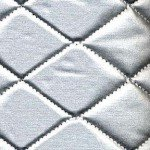Thermal Fleece Silver Quilted Heat Resistant Fabric 44in