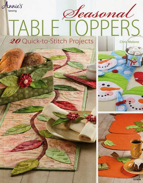 Seasonal Table Toppers project Book  by Annie's Sewing - 151056