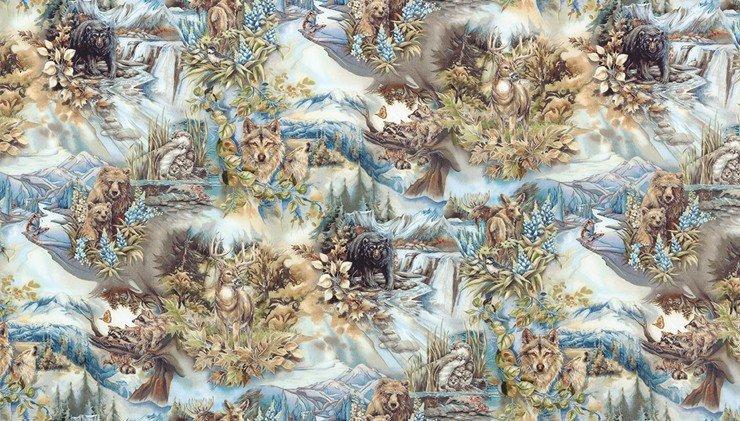 North American Wildlife 5 by Robert Kaufman 166332-169 earth