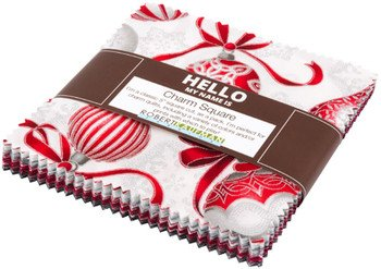 Holiday Flourish, Scarlet colorstory, CHS-586-42, charms squares, Robert Kaufman
