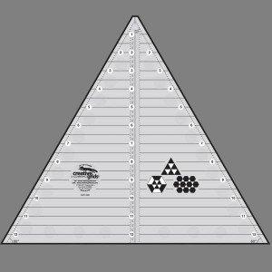 Creative Grids 60 degree triangle - CGRT12560