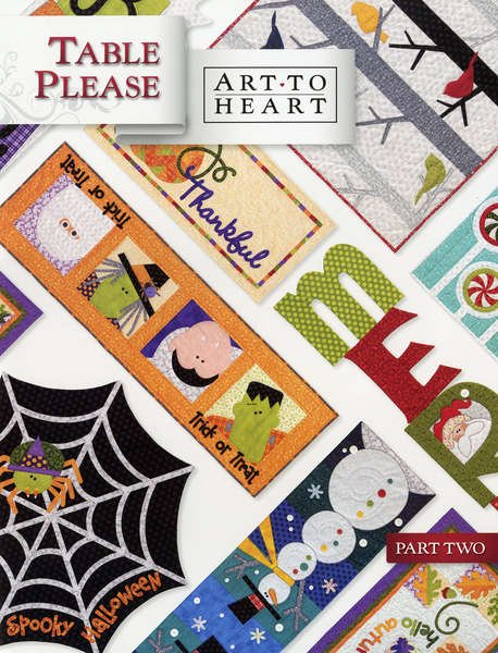 Table Please Part Two pattern book - 550B