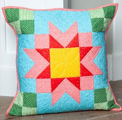 Pillow Kit of the Month by Riley Blake- August Stars-KTP-17823- August