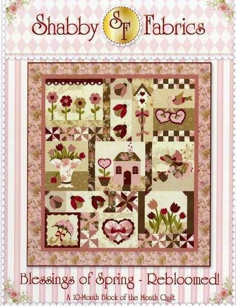 Blessings of Spring-Rebloomed! 10-Month BOM Pattern