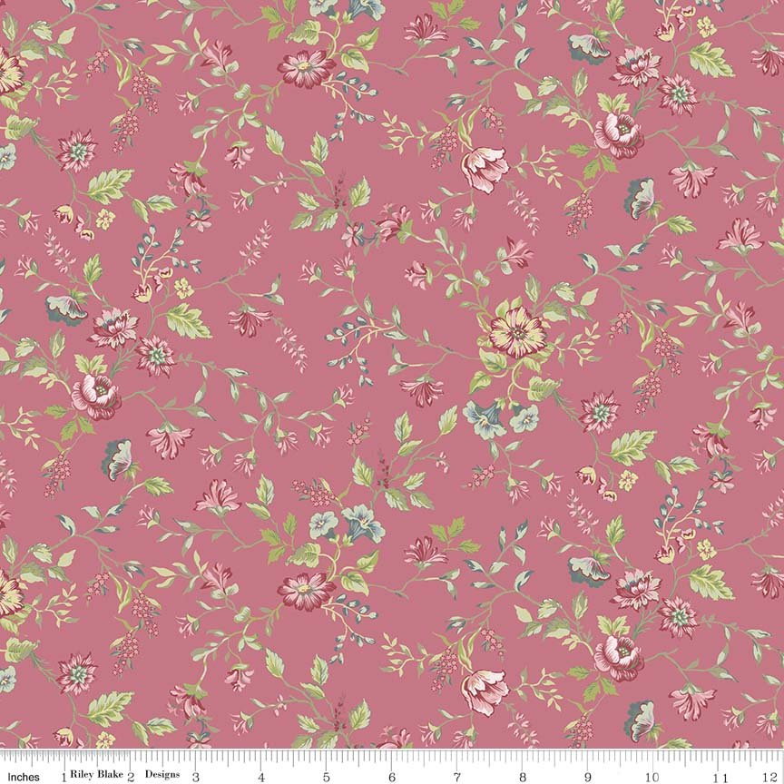 Amelia, C5841 pink, by Penny Rose Studios for Riley Blake Designs