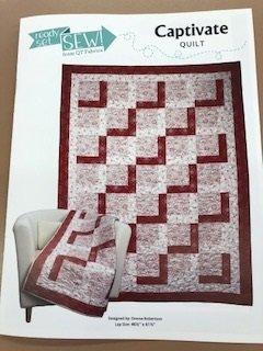 Captivate Quilt Kit, 46 1/2 x 61 1/2