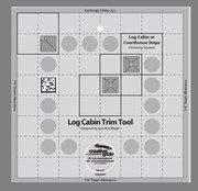 Creative Grids 8 non-slip log cabin trim tool - CGRJAW1