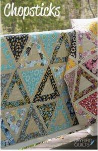 Chopsticks quilt pattern in 4 sizes - 9781937193003