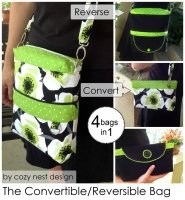 The Convertible/Reversible Bag pattern - CND-114