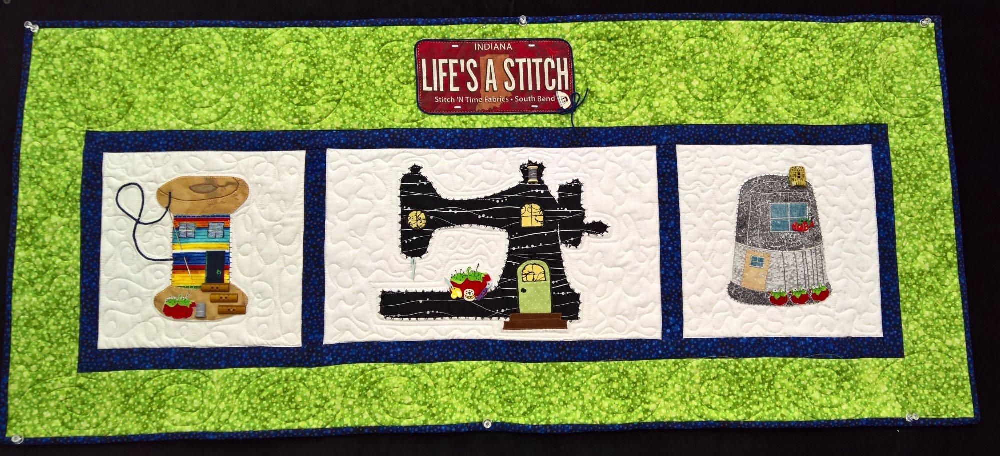 Life's A Stitch Pattern