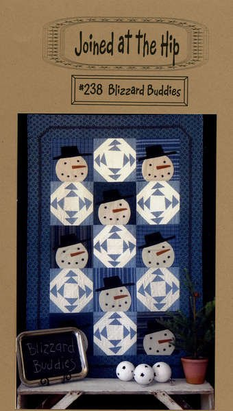 Blizzard Babies 36x54 quilt pattern by Joined at the HIp - JH238