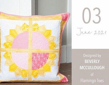 Pillow Kit of the Month by Riley Blake Designs-June Pillow Kit, Sunshine-KTP-17821