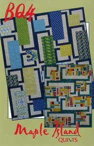 BQ4 Pattern by Debbie Bowles for Maple Island Quilts - MIQ 457