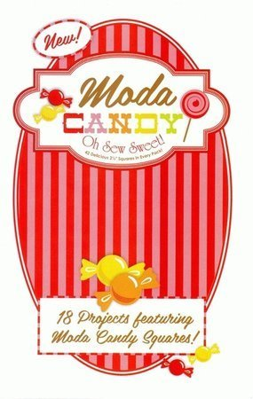 Candy Oh Sew Sweet Project book by Moda - PSMC