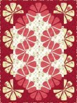 Mulberry Wine Quilt Kit 36.5x48.5