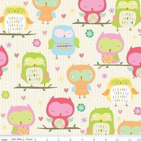 Owl & Co by Riley Blake C4940 cream