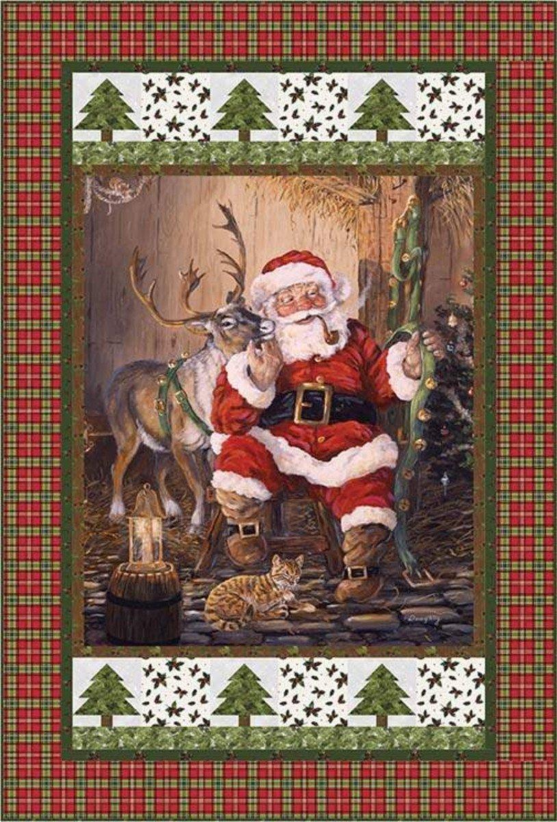 Santa Time to Go Quilt Pattern-CJC 5275-1, P148Timetogo