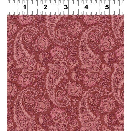 Paisley Med Toss Brick by Clothworks - 1590-51