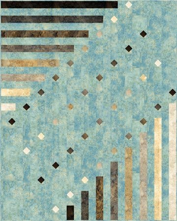 Dots Dash Quilt Pattern By Next Step Design From Northcott Ptn1573
