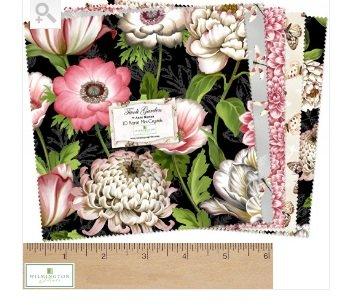 Tivoli Garden by Wilmington Prints, Q513-500-513, 10 Squares