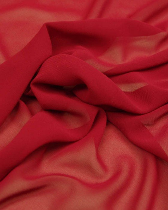 Chiffon 45 Crimson