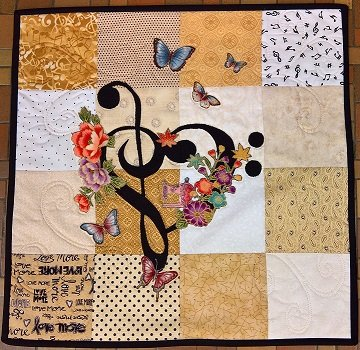 2018 Music of the Heart Row By Row - Pattern
