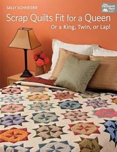 Scrap Quilts Fit for a Queen or a King, Twin or Lap - B1150