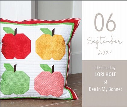 Pillow Kit of the Month by Riley Blake Designs- KTP-17824-September, Let's Pick Apples
