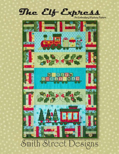 The Elf Express Embroidery Machine Pattern by Smith Street Designs - S12183