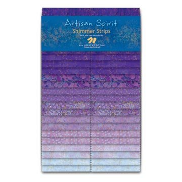 Artisan Spirit Shimmer Color, Pansy Strips