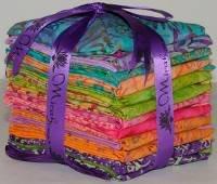 Summer Breeze Batik Fat Quarters by Mirah - FQ-08