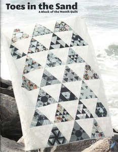 Toes In the Sand - A block of the Month Design - JBQ 130 - 9781937193201