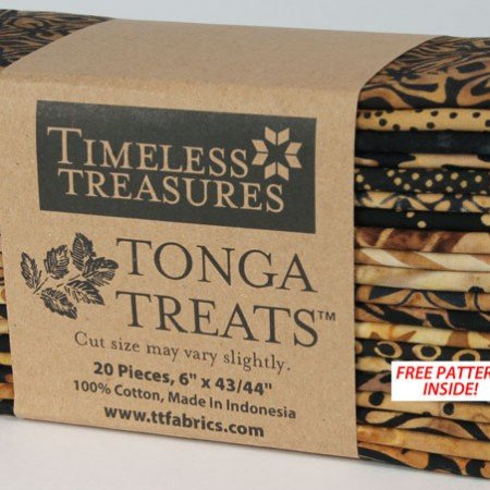 Tonga Treats by Timeless Treasures,Treat-6pack Chai
