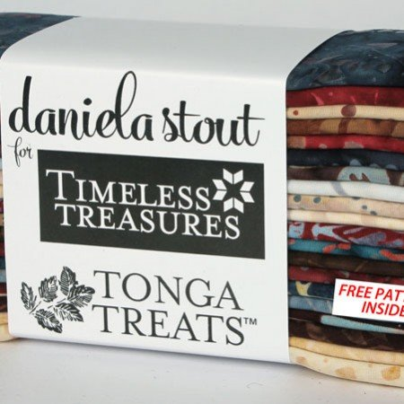 Tonga Treats by Timeless Treasures,Treat-6 Pack Sophisticate