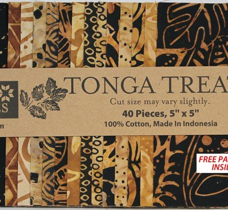 Tonga Treats by Timeless Treasures,Treat-Mini Chai