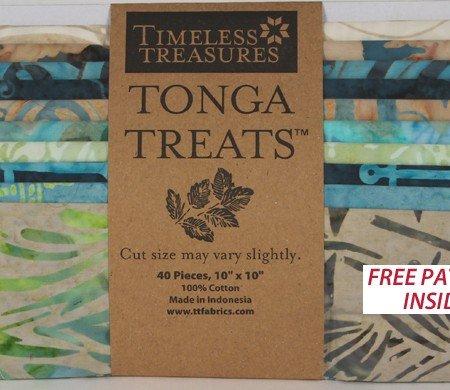 Tonga Treats by Timeless Treasures,Treat-Square Oceana