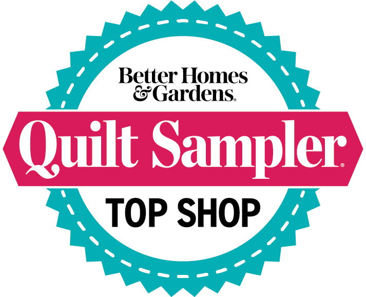 Top Shop, Featured in Better Homes & Garden, Quilt Sampler Magazine