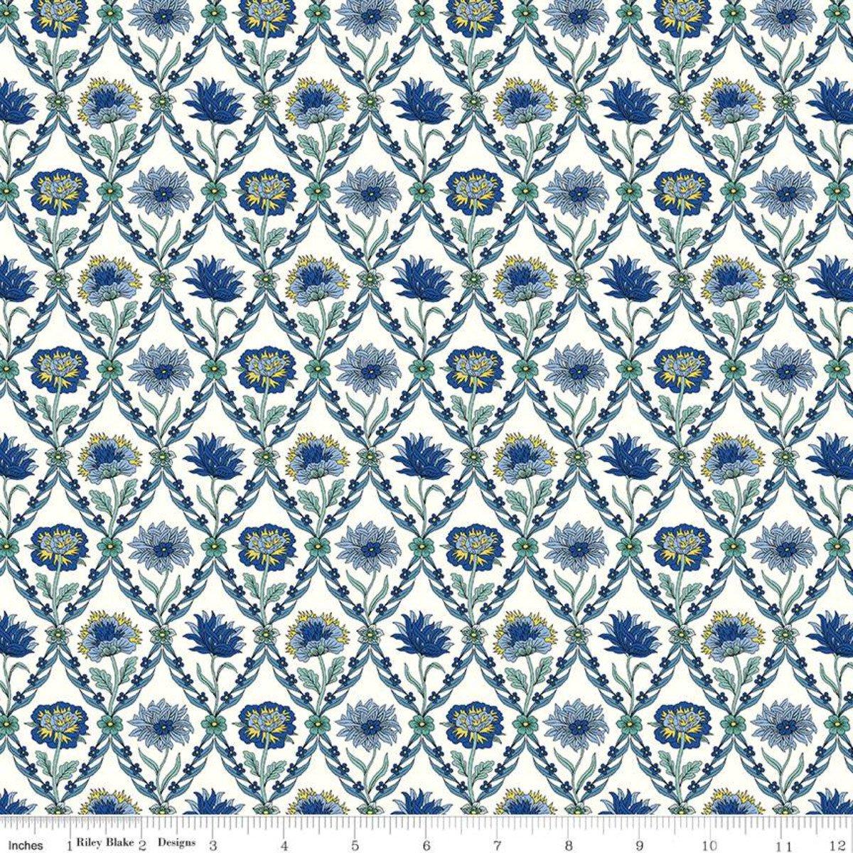 Summer House Trellis Blue