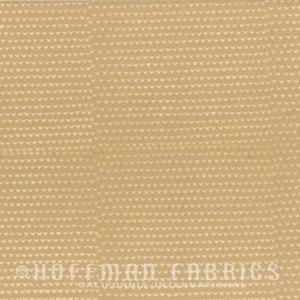 1 1/8 Yard End of Bolt Hoffman Hand Dyed Batiks Prints Beige 102-25