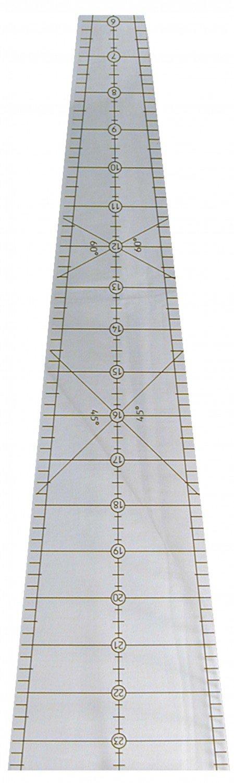 10 degree Wedge Ruler 24in Long